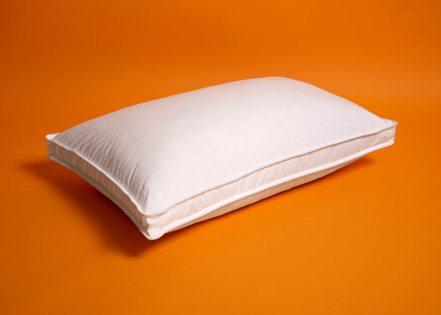 white polyester pillow product image