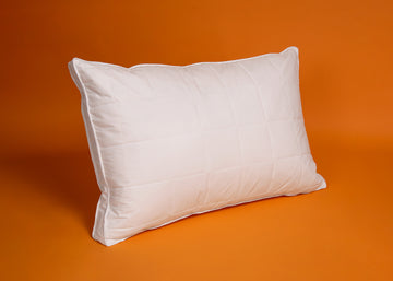 Natural Quilted Feather Pillow product image