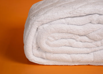 Sherpa mattress pad product shot