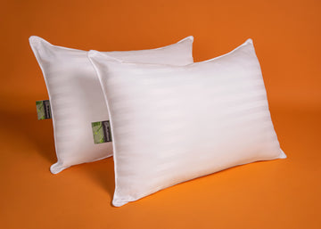 Solutions Allergy Stripped 2-Pk Pillows