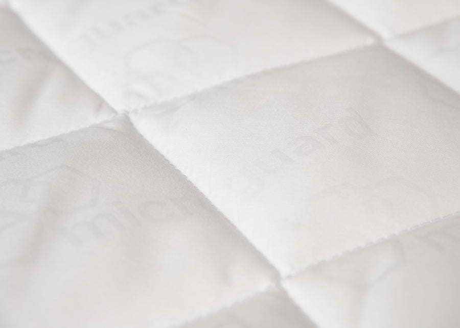 swatch texture of antimicrobial mattress pad