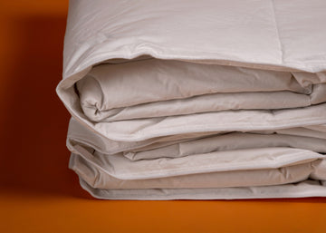 WhiteTail Duvet close up product shot