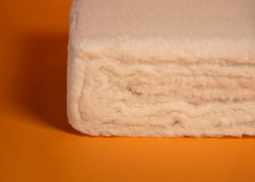 ivory wool mattress pad