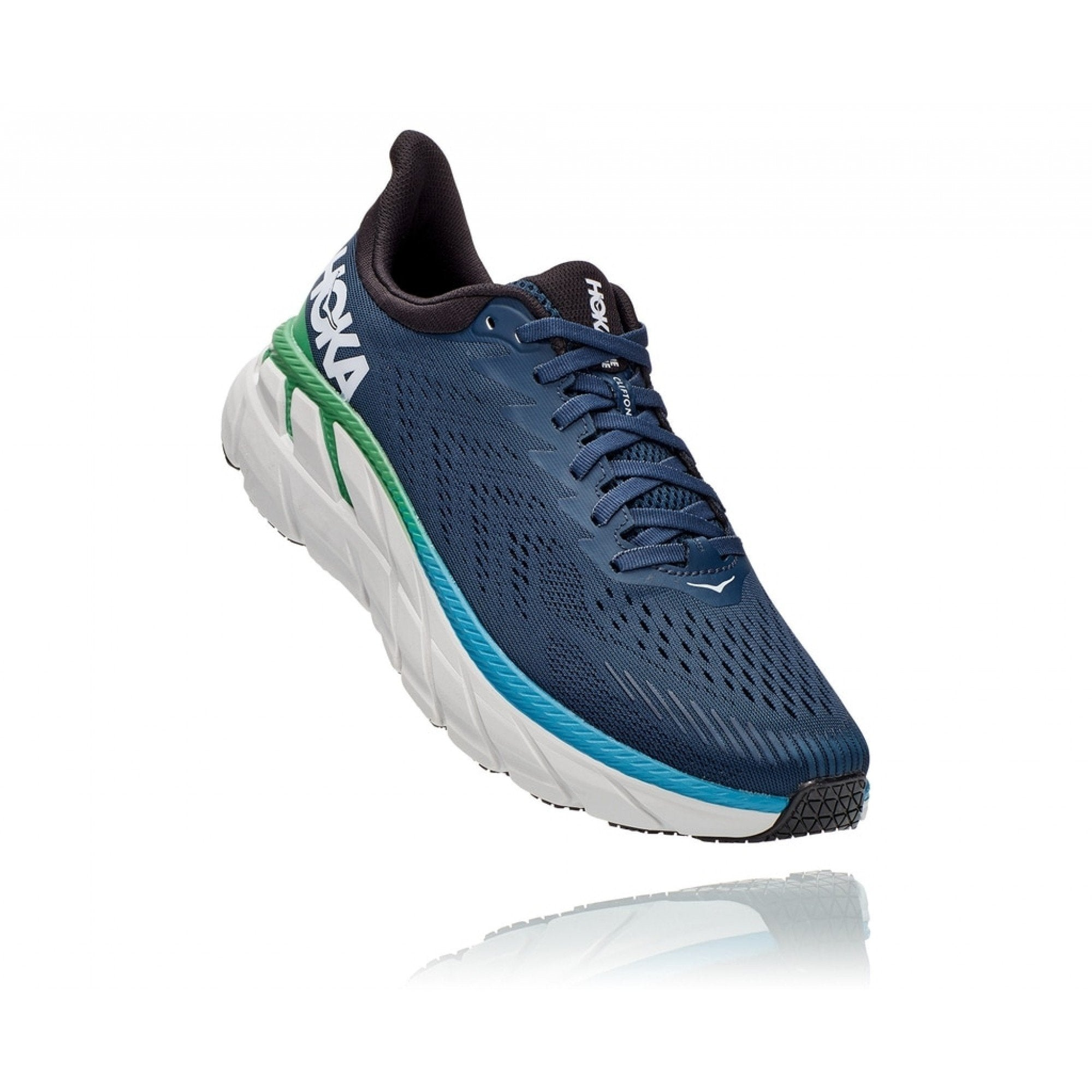 Hoka One One Clifton 7 Mens 2E Wide - Sole Motive