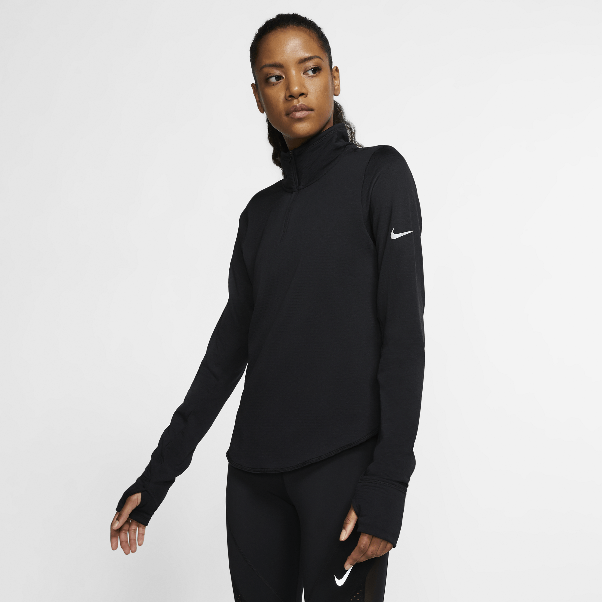 Nike Womens Sphere Element Half Zip Top - Sole Motive