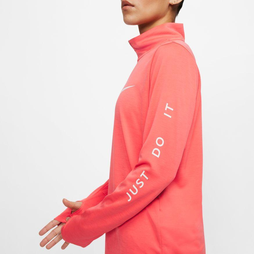 Nike Quarter Zip Running Top Womens - Sole Motive