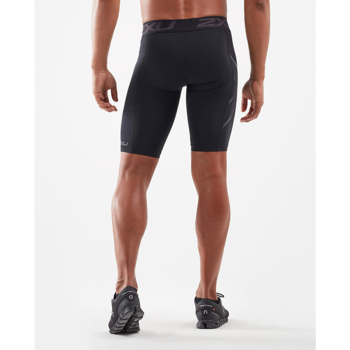 2XU Mens ACCELERATE Comp Shorts - Running shoes. Sole Motive , Melbourne, Australia.