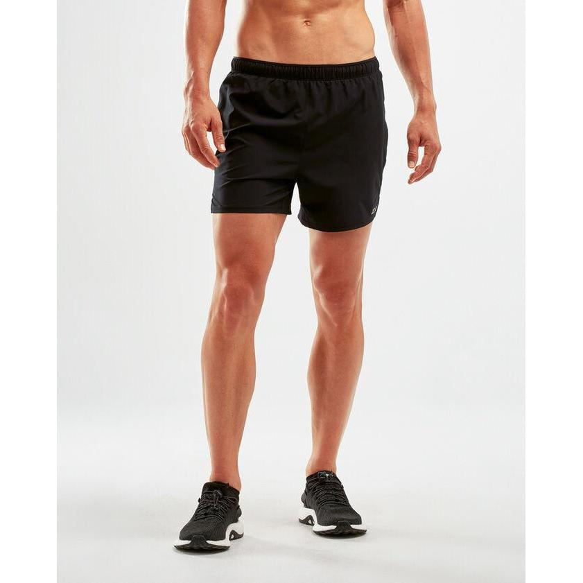 2XU Xvent 5Inch Short (w brief) Mens - Sole Motive