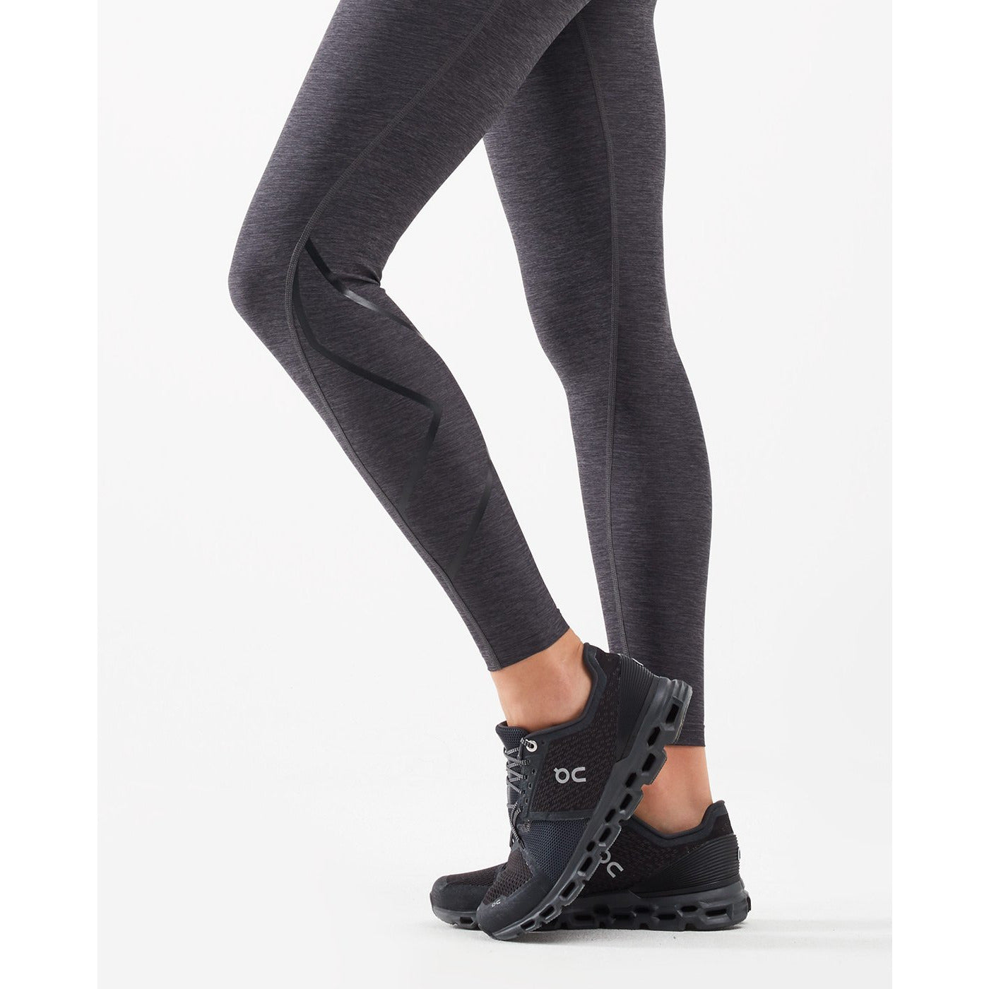 2XU Womens Print Hi-Rise Comp Tights - Sole Motive