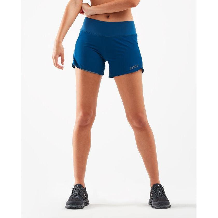2XU Womens XVENT 4 Inch Short