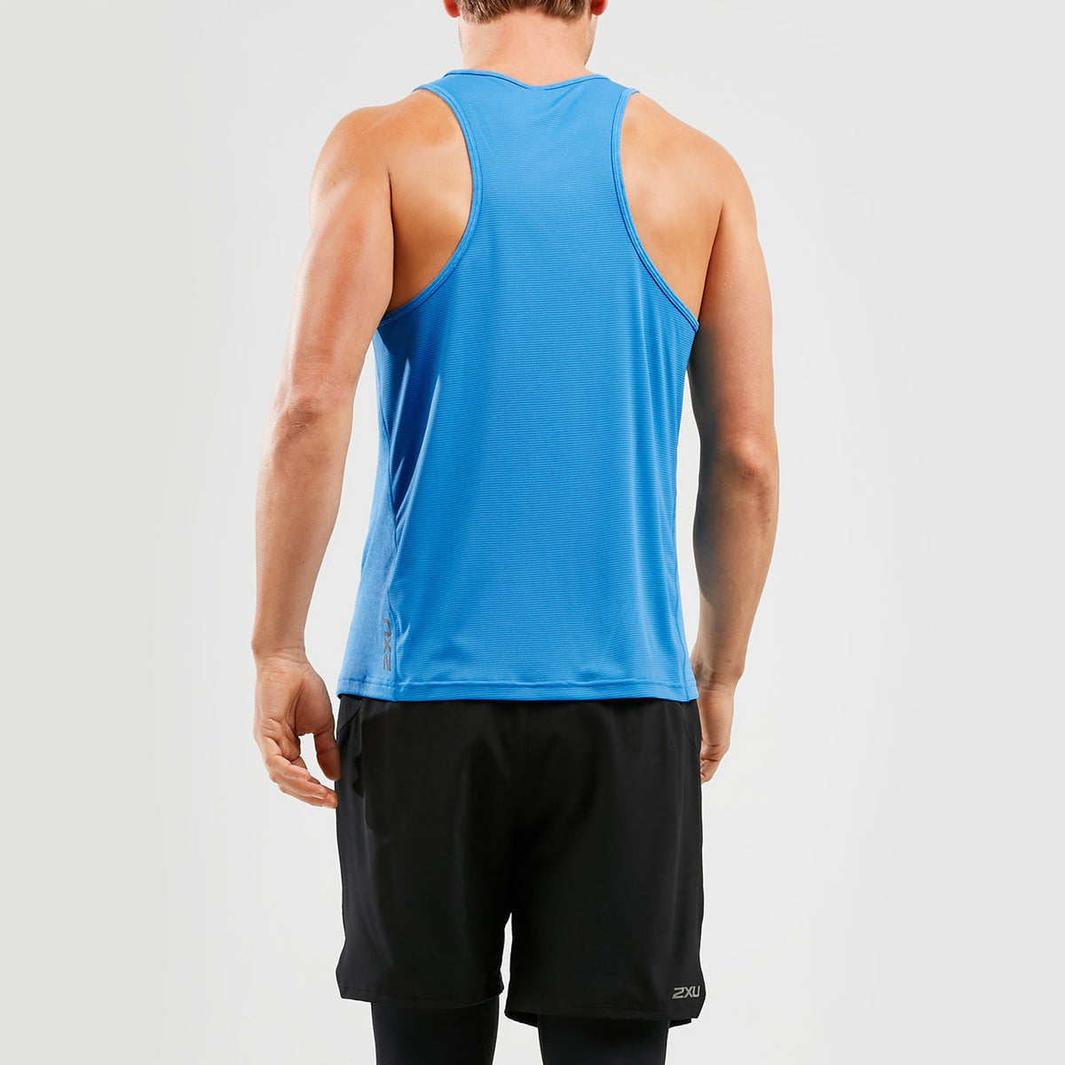 2XU Xvent G2 Singlet Mens - Sole Motive