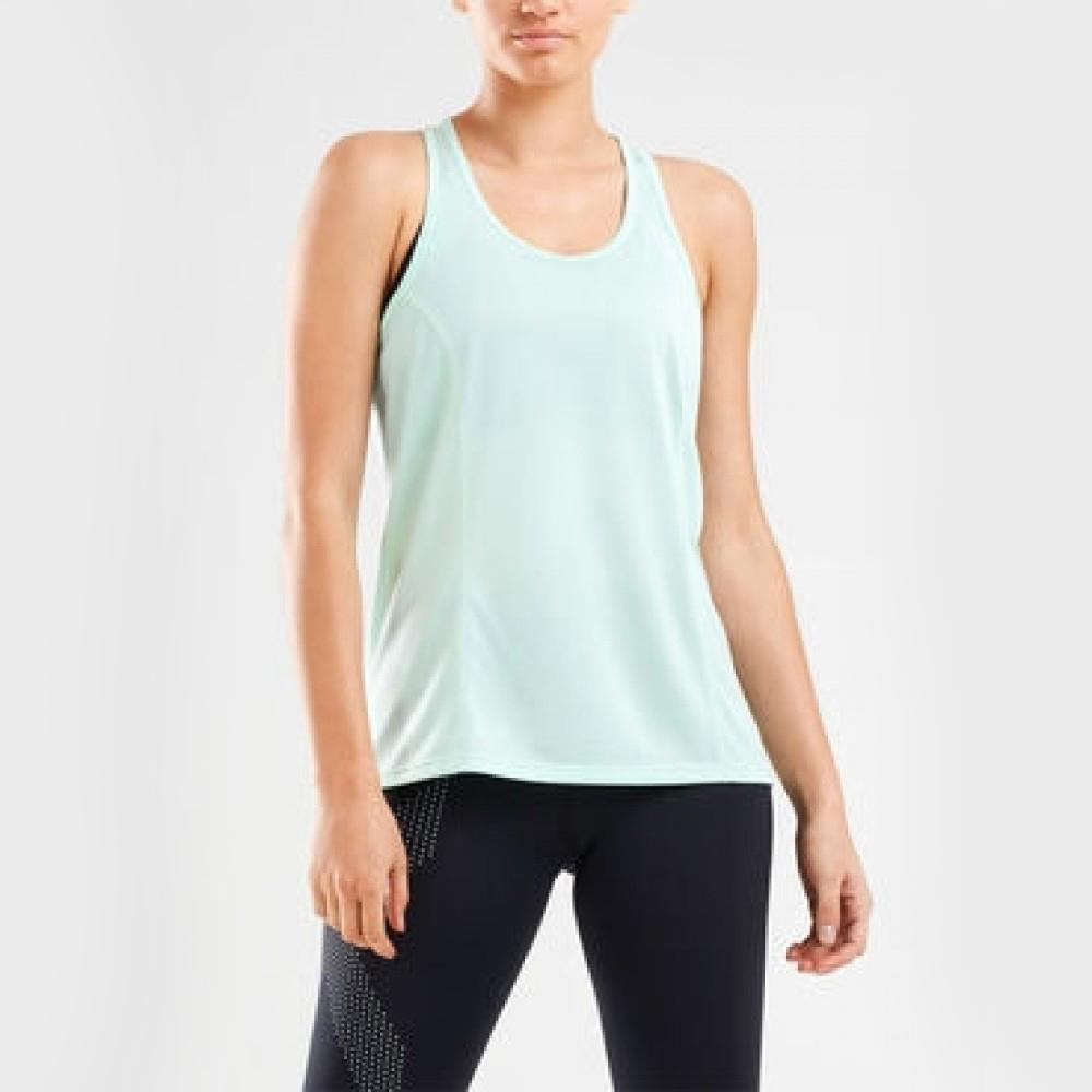 2XU Ghost Singlet Womens - Sole Motive