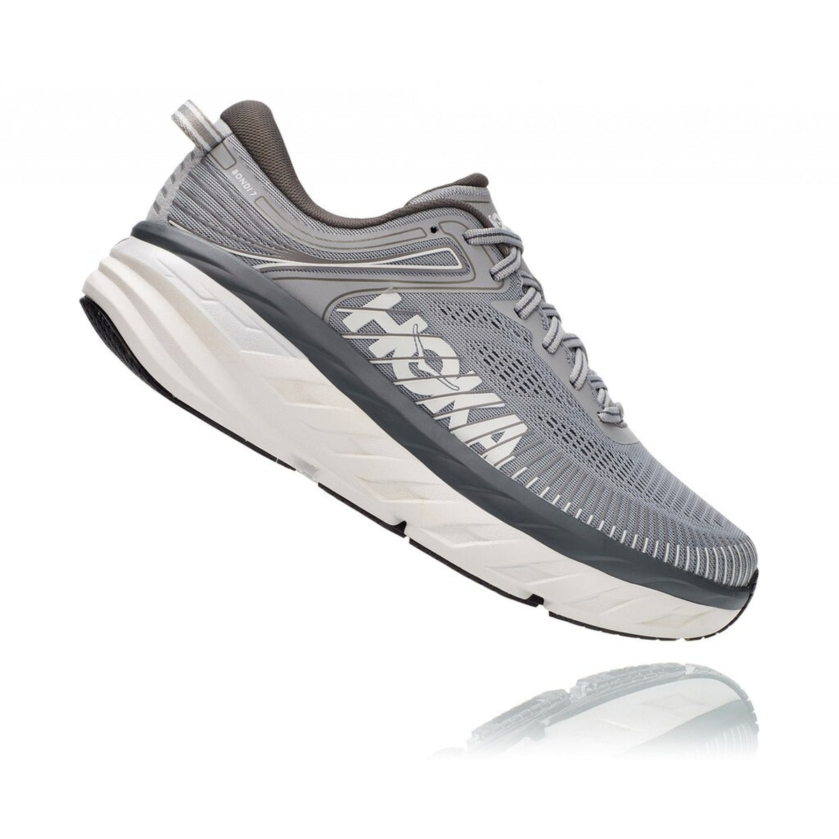 Hoka One One Bondi 7 Wide (2E) Mens