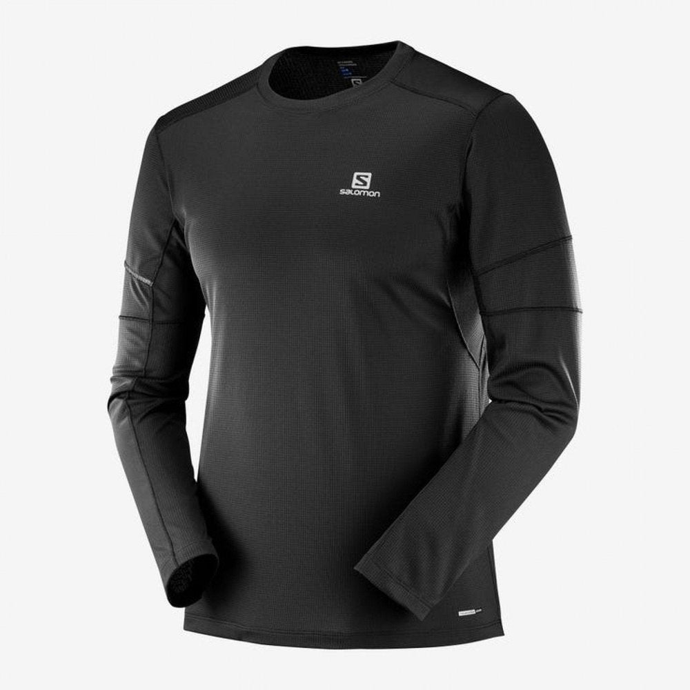 Salomon Agile Long Sleeve Mens Top - Sole Motive