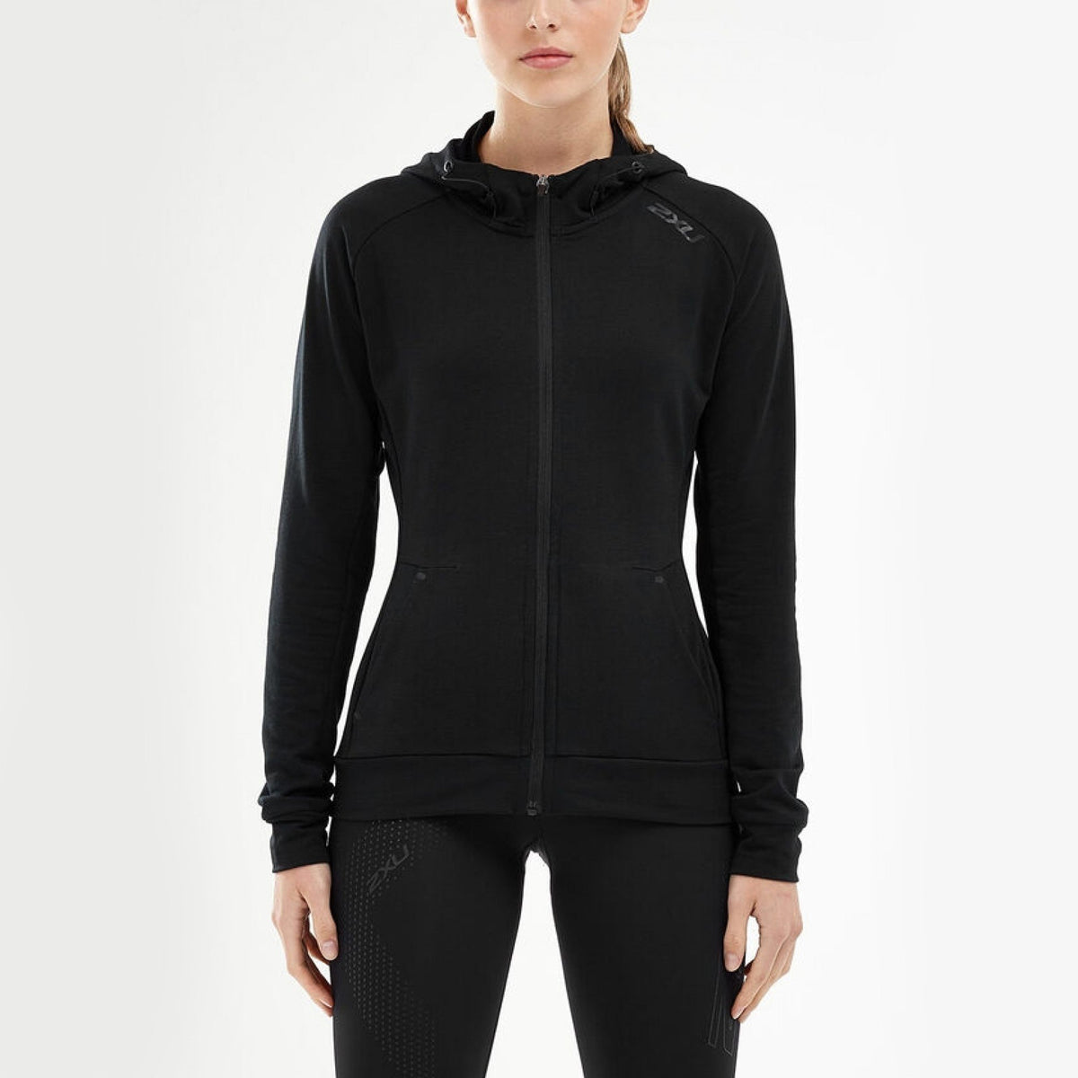 2XU Transit Zip Hoodie Womens - Sole Motive