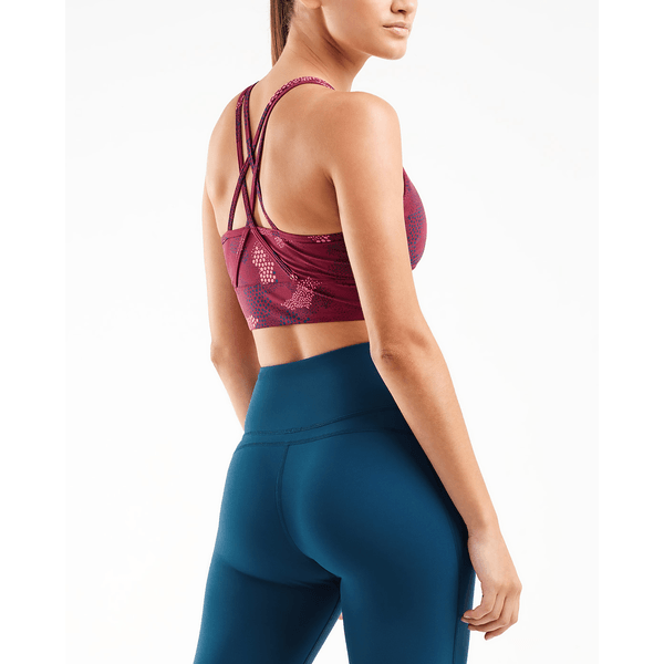 2XU Womens ACTIVE Longline Crop