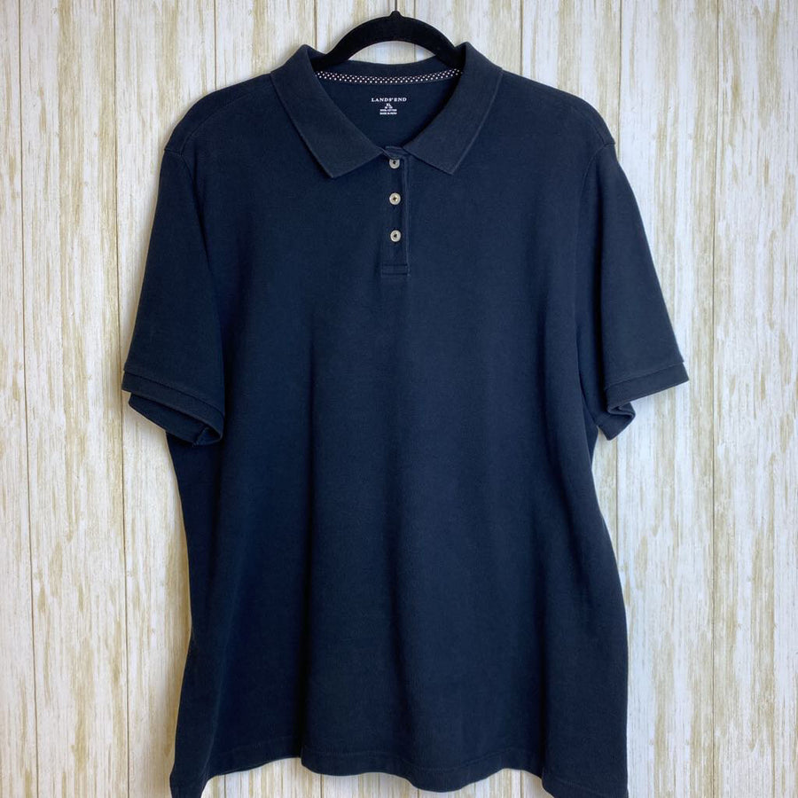 Land's End Tops Navy XL