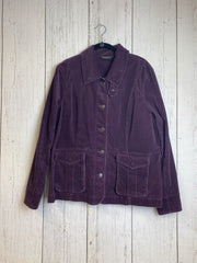 Eddie Bauer women Jacket Wine X Large - Nells Fine Consignment