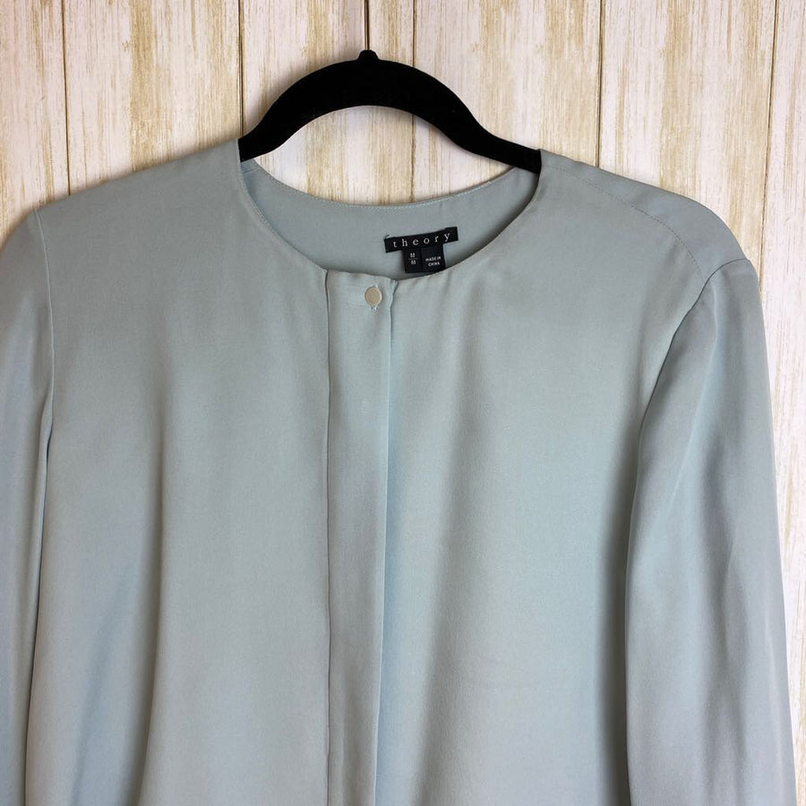 Theory Blouses blue M