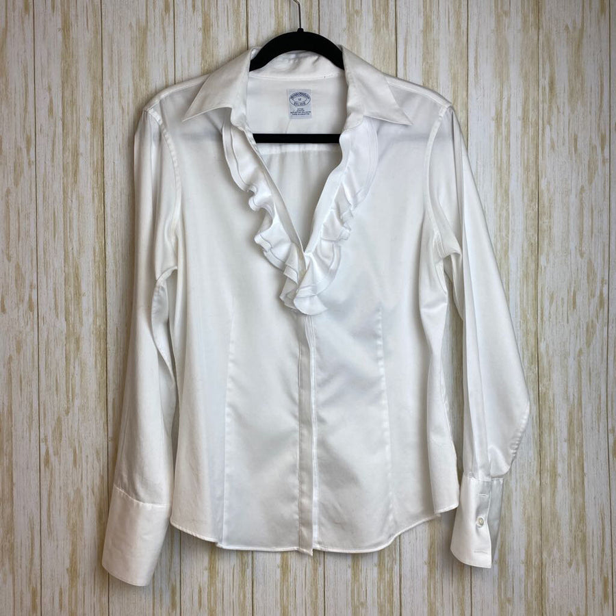 Brooks Bros. Shirt White 12