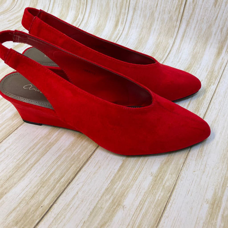 Amelia Grace Shoes Red 9 M