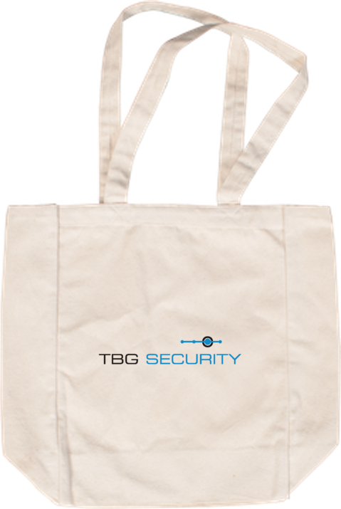 TBG Shopping Bag White