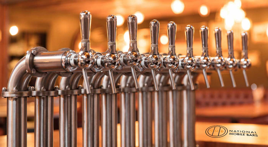Draught beer taps - National mobile bars