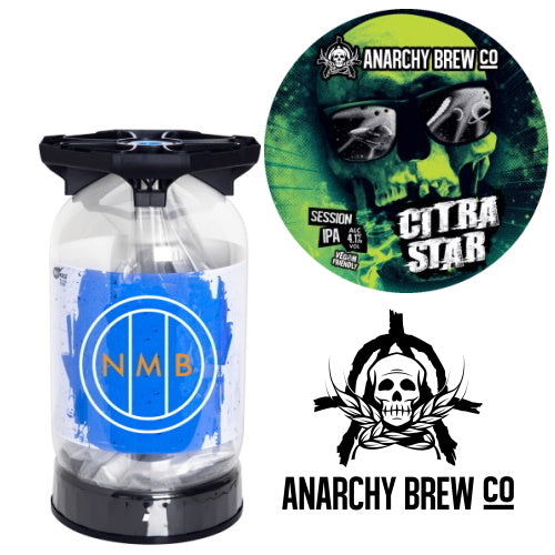 Anarchy Brew Co - Citra Star - Session IPA 30L Keykeg