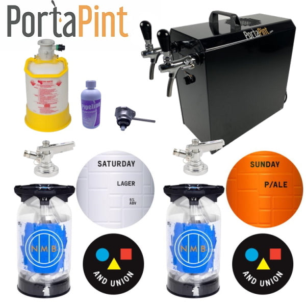 Portapint beer dispenser mega pack