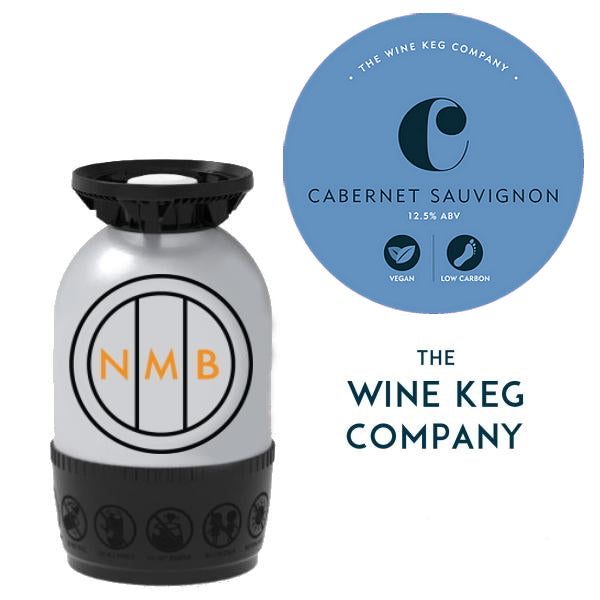 Cabernet Sauvignon (Red wine) | The Wine Keg Co - 20 Litre - Polykeg (Sankey)