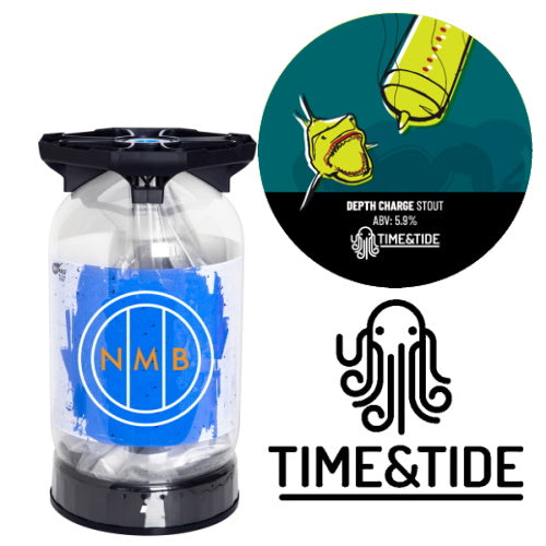 Time & Tide Brewery - Depth Charge - Stout - 30L Keykeg