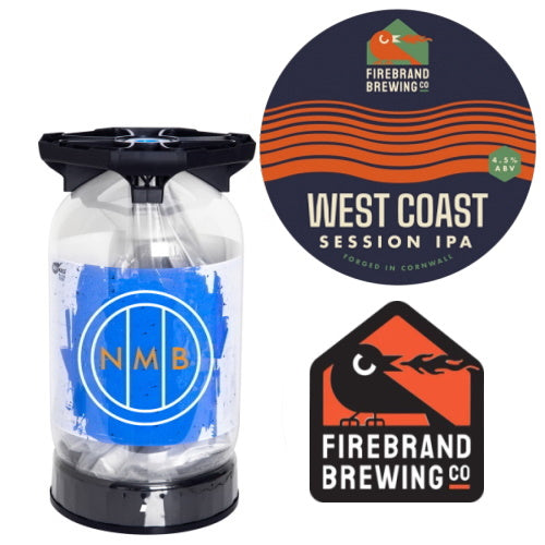 Firebrand Brewing Co West Coast Session IPA Keykeg
