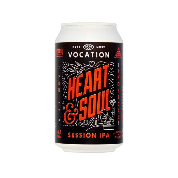 Vocation - Heart & Soul - Session IPA - 12 x 330ml Cans