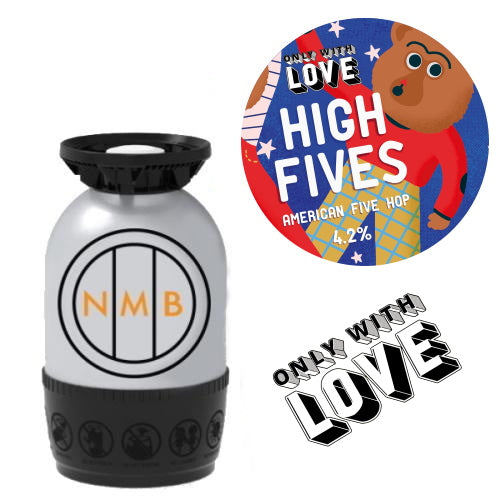 Only With Love - High Fives - American Five Hop Polykeg
