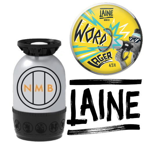 Laine Brew Co - Word - Lager - 12L Polykeg