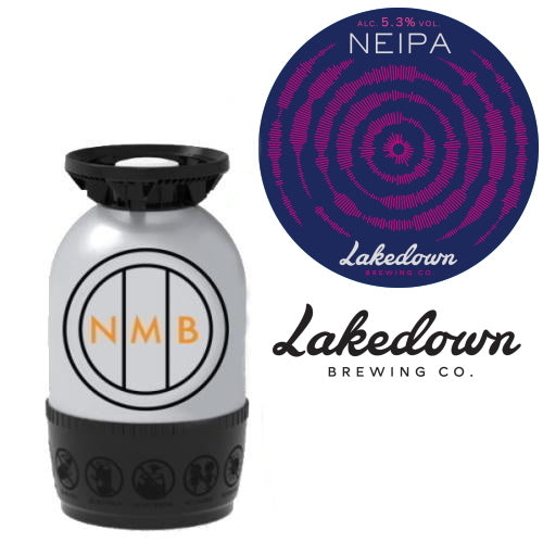 Lakedown Brewing Co - NEIPA - 30L Polykeg (Sankey)