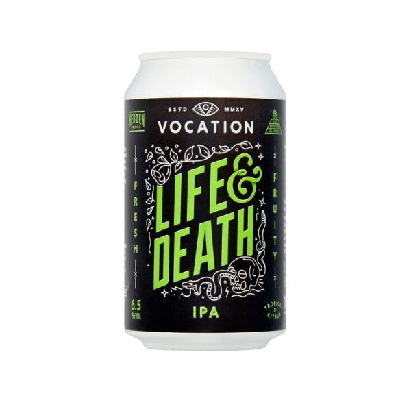 Vocation - Life & Death - IPA - 12 x 330ml Cans
