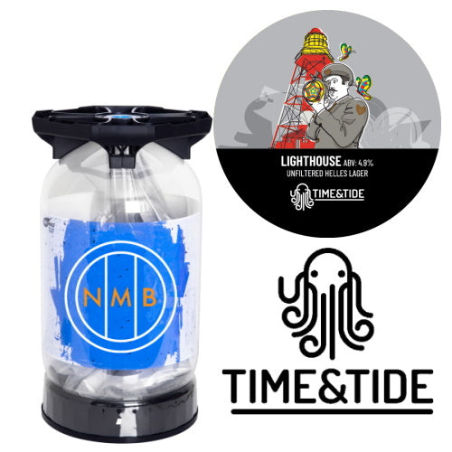 Time & Tide Brewery - Lighthouse Lager - 30L Keykeg