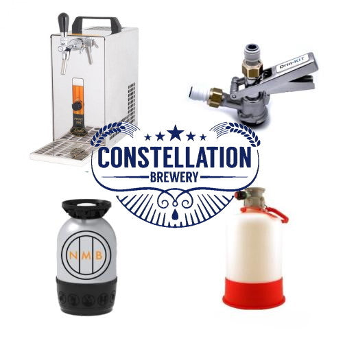 Lindr home starter kit and keg Constellation brewery