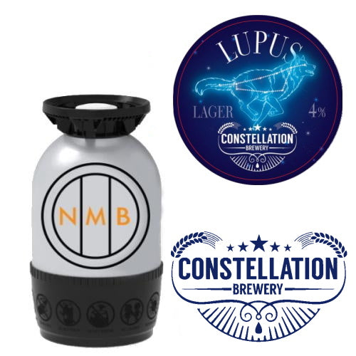 Constellation Brewery Lupus lager keg