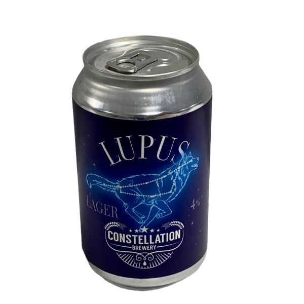Constellation Brewery - Lupus Lager - 12 x 330ml Cans