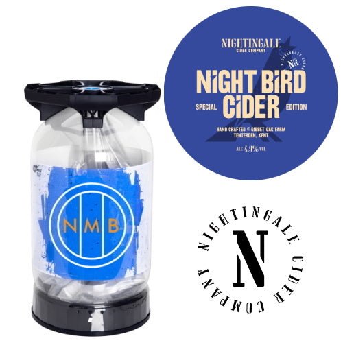 Nightingale Cider Company - Night Bird Cider keykeg
