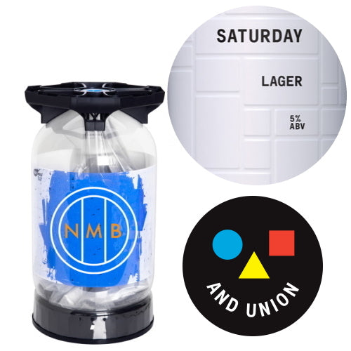 And Union - Saturday - Unfiltered Lager Keykeg