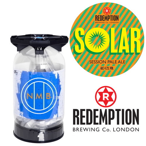 Redemption brewing co - Solar pale ale keykeg keg