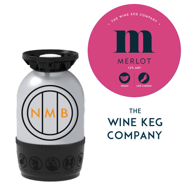 Red wine keg