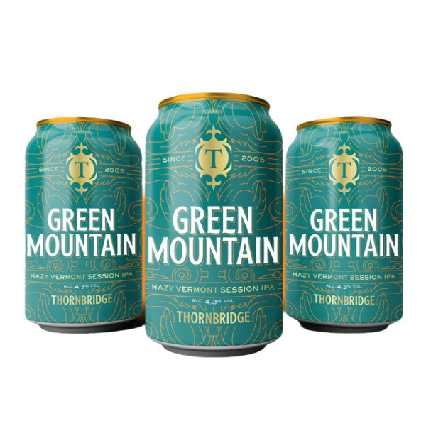 Thornbridge Brewery - Green Mountain - Session IPA 12 x 330ml Cans
