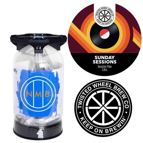 Twisted Wheel Brew Co - Sunday Sessions - Session Pale 30L Keykeg