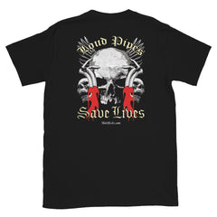 Loud Pipes Save Lives Biker T-Shirt From MotrHedz