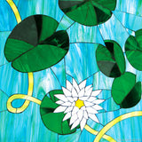 Custom Tile Pattern: Lilypads