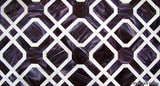 Custom Tile Pattern: Purple Parquet